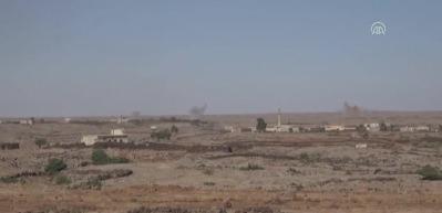 Esed rejiminin Dera'ya saldırıları devam ediyor