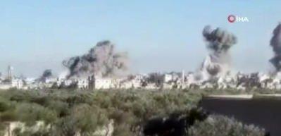 Esed ve Rusya İdlib'de katliam yaptı: 20 sivil öldü
