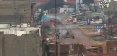 Esed'e bir darbe daha! 36 tonluk tank böyle vuruldu
