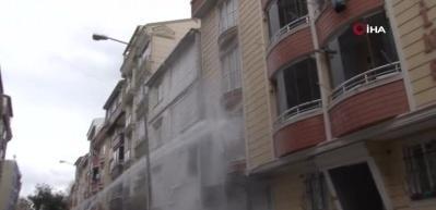 Esenyurt'ta doğalgaz borusu patladı: 1 yaralı