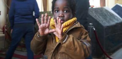 Etiyopyalı Adem'in hikayesi gülümsetiyor