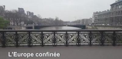 Evdekal: Avrupa başkentlerinde Koronavirüs durgunluğu