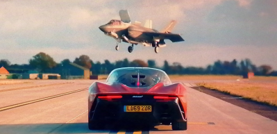 McLaren Speedtail, F-35'e meydan okudu! Dev kapışma! İşte kazanan