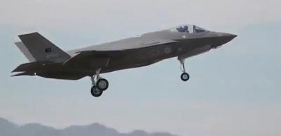 F-35 pilotlarımızın ABD'deki uçuş eğitimi görüntülendi