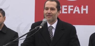 Fatih Erbakan ilk mitingini düzenledi