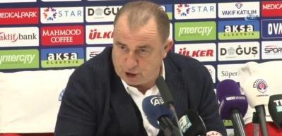 """Fatih Terim: """"Bu futbol Galatasaray'a yakışmadı"""""""
