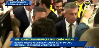 FB TV spikerinden Aziz Yıldırım gafı!