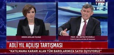Feyzioğlu: Bunların yargı reformundan ödü kopuyor!