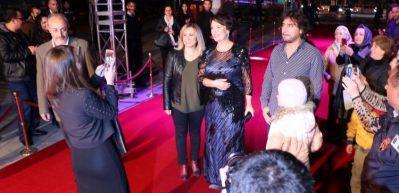 """Film Festivali """"Kırmızı Halı"""" geçişi ile başladı"""