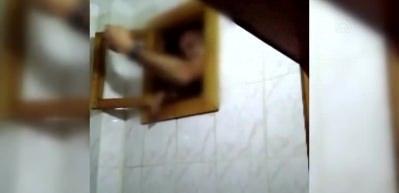 Firari hükümlü tuvaletin havalandırma boşluğunda yakalandı