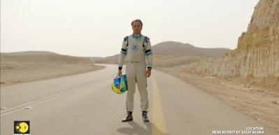 Formula 1 pilotu Felipe Massa kuşla yarıştı!