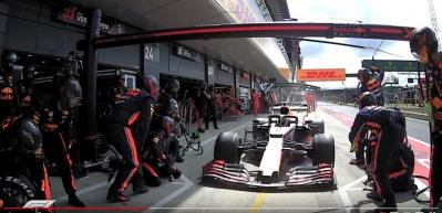 Formula 1 tarihine geçen an! 1.91 saniye...
