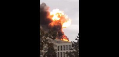 Fransa'da Lyon Üniversitesi'nde patlama