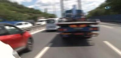 FSM Köprüsü'nde zincirleme kaza!