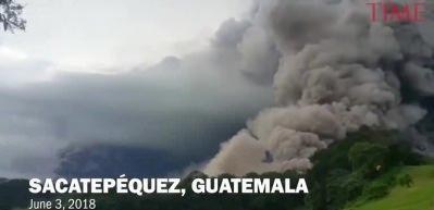 Fuego volkanı patladı, en az 25 ölü var