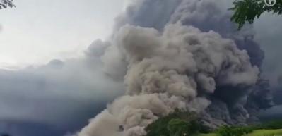 Fuego'dan dehşete düşüren görüntüler