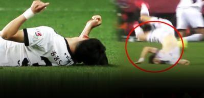 Futbol maçında kan donduran görüntü...