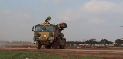 Füzeler ateşlendi! Rusya, İran ve Esed'e karşı operasyon başlatıldı