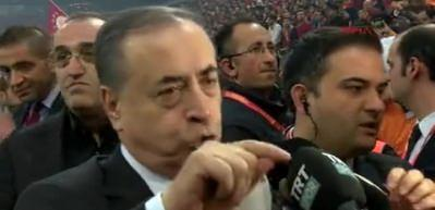 Galatasaray Başkanı Cengiz: Tarihi bir ana tanıklık ediyoruz