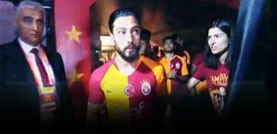 Galatasaray'ın kutlamasında Tarık Çamdal'a tepki