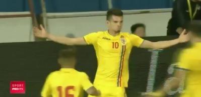 Gheorghe Hagi'nin oğlundan müthiş gol!
