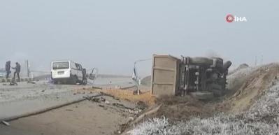 Gizli buzlanma kazaya neden oldu: 3 ölü, 2 yaralı