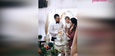 Gökçe Akyıldız oğlu Ömer Asaf'ın doğum gününü kutladı