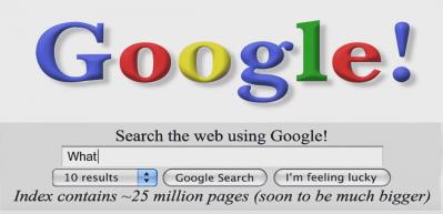 Google 20 yaşında