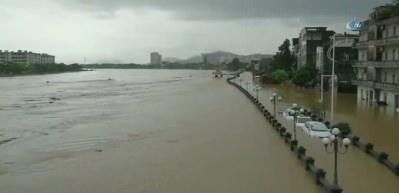 Görüntüler bugün çekildi! Şehir sular altında