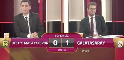 GSTV'de son dakika golü üzüntüsü kameralara böyle yansıdı