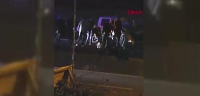 Gümüşyaka'da kamyonet kamyona çarptı: 5 yaralı