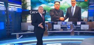 Gündem oldu! Rus televizyonunda skandal