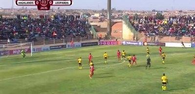 Güney Afrika Süper Ligi'nde müthiş gol!