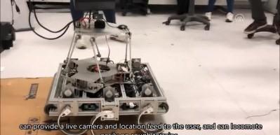 Hamam böceği robot için ilham verdi