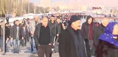 HDP'nin kongresi için askerler nöbet tuttu
