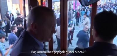 'Her şey çok güzel olacak' diyen kadına Erdoğan'dan muhteşem cevap!