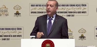 Herkes bu videoyu paylaşıyor! Başkan Erdoğan'dan tarihi Kudüs açıklaması