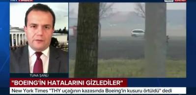 Hollanda kazasında Boeing skandalı