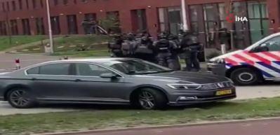 Hollanda'da saldırı! İlk görüntüler geldi