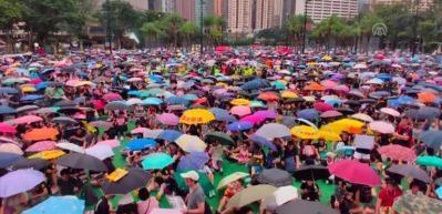 Hong Kong'daki gösteriler devam ediyor