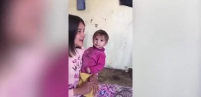 Hurşide'nin videosu izleyenlerin içini parçaladı