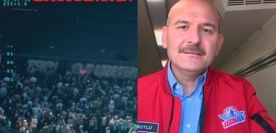 İçişleri Bakanı Soylu Bayraktar SİHA'yı böyle uçurdu