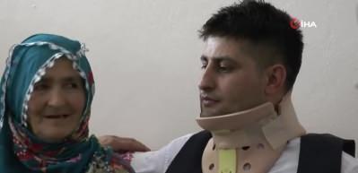 İdlib Gazisi Uzman Onbaşı Kaplan ailesine kavuştu