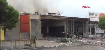 Iğdır'da sanayi sitesinde patlama: 1 ölü, 16 yaralı