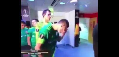 İğrençlikte sınır tanımayan futbolcu