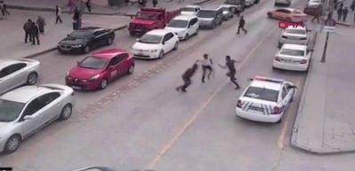 İki kardeşin yargılandığı cinayet kamerada
