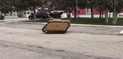 İlk insansız kara aracımızın görüntüleri paylaşıldı