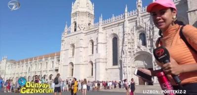 İnşaa edildiği süre boyunca her sene 70 kilogram altın kullanılan Portekiz'deki Jeronimos Manastırı