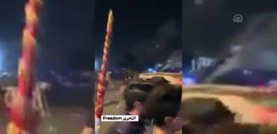 Irak'ta gösterilerin sürdüğü meydanda bombalı saldırı