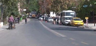 İran Büyükelçiliği'nde hareketli anlar